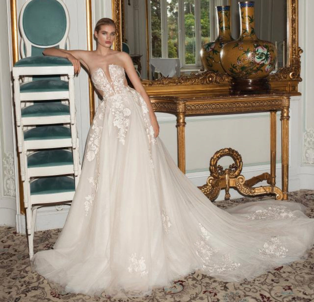 Galia lahav 'Querida' wedding dress size-04 PREOWNED