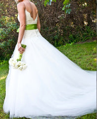 Monique Lhuillier 'Swan Lake' - Monique Lhuillier - Nearly Newlywed Bridal Boutique - 3