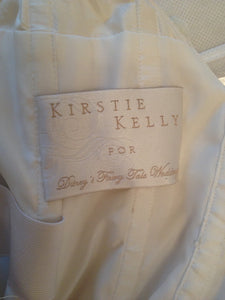 Kirstie Kelly 'Giselle' size 6 used wedding dress view of tag