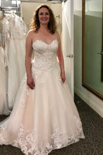 Load image into Gallery viewer, Jewel 'V3836' wedding dress size-10 NEW