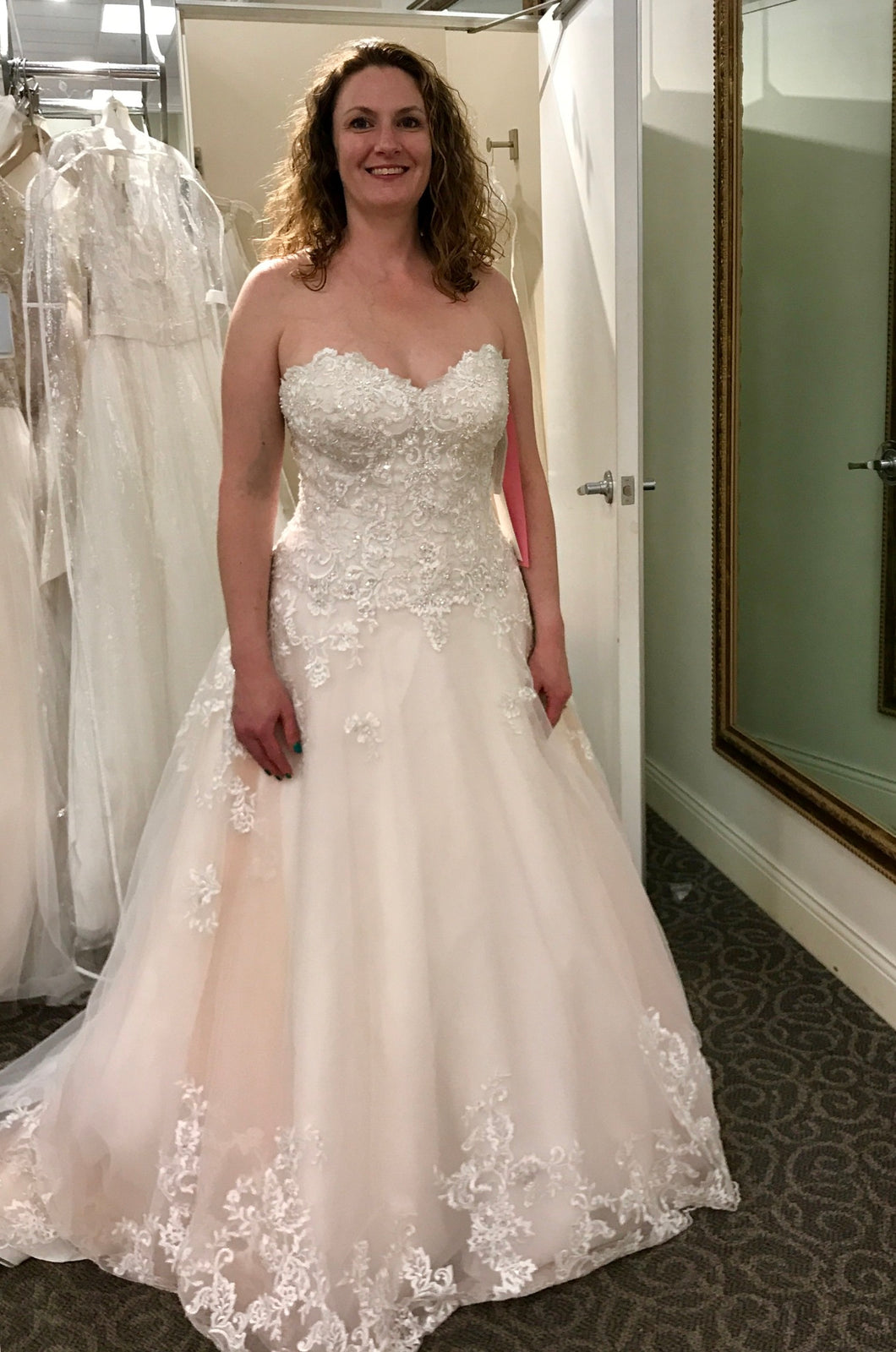 Jewel 'V3836' wedding dress size-10 NEW