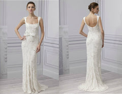 "Monique Lhuillier ""Luxe"" - Monique Lhuillier - Nearly Newlywed Bridal Boutique - 2"