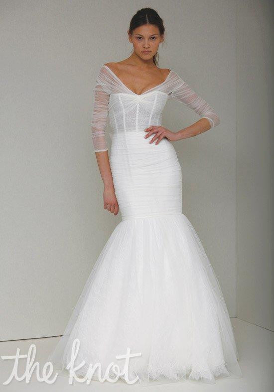 Monique Lhuillier \'Addie\' size 6 new wedding dress - Nearly Newlywed