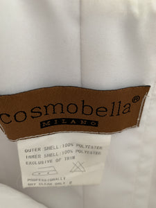 Cosmobella '7385' size 12 used wedding dress view of tag