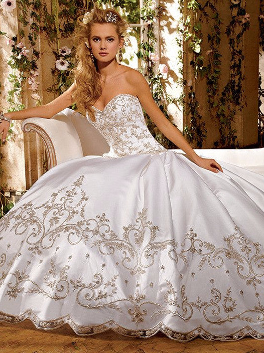 Eve of Milady Ball Gown Wedding Dresses