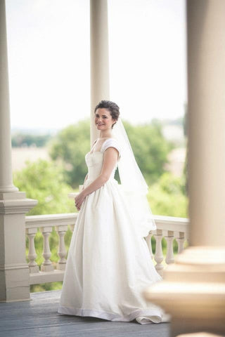 Priscilla of Boston 'MAEVE' strapless ballgown