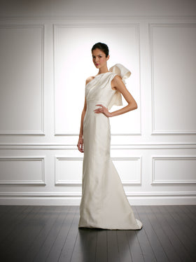 Carolina Herrera 'Irina' wedding dress size-02 PREOWNED