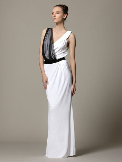 Gianfranco Ferre Chiffon Wedding Dress - Gianfranco Ferre - Nearly Newlywed Bridal Boutique - 1