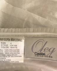 Oleg Cassini 'Ruched Satin'