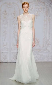 Monique Lhuillier 'Timeless' size 8 new wedding dress front view on model