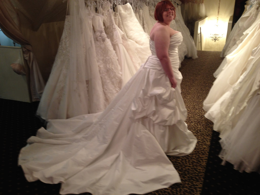 Enzoani 'Dalian' - Enzoani - Nearly Newlywed Bridal Boutique - 2