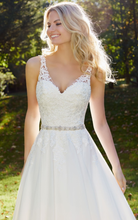 Load image into Gallery viewer, Mori Lee '3214R Michelle' size 10 new wedding dress front view close up