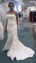 Load image into Gallery viewer, Oleg Cassini Strapless with Flared Hem - Oleg Cassini - Nearly Newlywed Bridal Boutique - 2