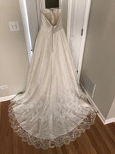 Load image into Gallery viewer, Kelly Faetanini 'Aster' size 10 new wedding dress back view on hanger