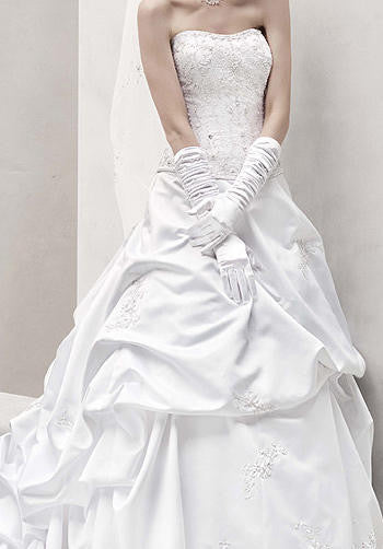 Oleg Cassini 'CT291' - Oleg Cassini - Nearly Newlywed Bridal Boutique - 3