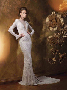 Mon Cherie 'Beaded Lace' Bridal Gown