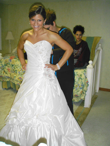Demetrios 'Beaded Dress'