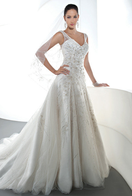 Demetrios 'Ilissa 543' - Demetrios - Nearly Newlywed Bridal Boutique - 1