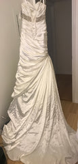 Sottero and Midgley 'JSM1307' size 6  new wedding dress back view on hanger