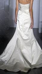 Amsale 'Nicole' Trumpet Wedding Dress - Amsale - Nearly Newlywed Bridal Boutique - 2