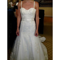 Angel Rivera Custom Re-Embroidered Lace - Angel Rivera - Nearly Newlywed Bridal Boutique - 4