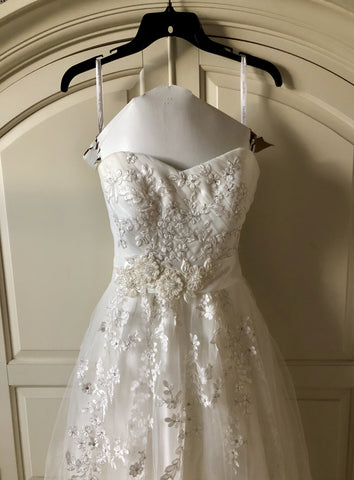David's Bridal 'Flower Lace'