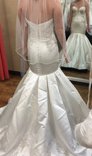 Load image into Gallery viewer, Mon Cheri Bridal 'Calliope' size 6 sample wedding dress back view on bride