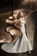 Demetrios Ilissa 959 Wedding Dress - Demetrios - Nearly Newlywed Bridal Boutique - 1