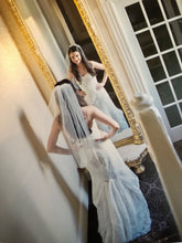 Load image into Gallery viewer,  Demetrios 'Ilissa 900 RN 98249' size 2 used wedding dress back view on bride