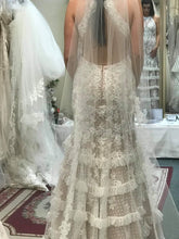 Load image into Gallery viewer, Mori Lee '99061' size 6 sample wedding dress back view on bride