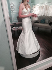 Jenny Yoo Strapless Mermaid - Jenny Yoo - Nearly Newlywed Bridal Boutique - 2