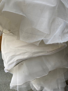 ALP '8177 Muse' size 8 used wedding dress view of layers