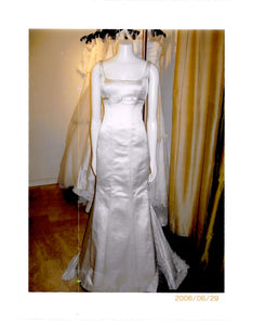 Peter Langner 'Melissa ' wedding dress size-06 PREOWNED