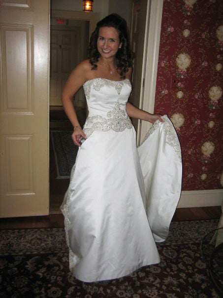 Priscilla of Boston 'Platinum Collection PL 263' - Priscilla of Boston - Nearly Newlywed Bridal Boutique - 2