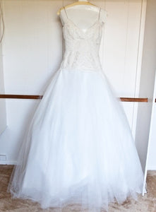 Monique Lhuillier 'Swan Lake' - Monique Lhuillier - Nearly Newlywed Bridal Boutique - 6