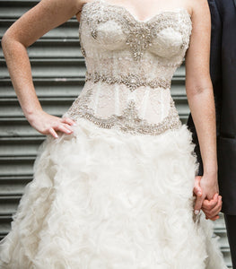 Pnina Tornai Fully Custom Wedding Dress - Pnina Tornai - Nearly Newlywed Bridal Boutique - 2