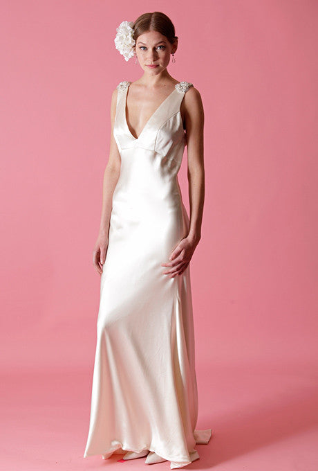 Badgley Mischka Bess Wedding Dress - Badgley Mischka - Nearly Newlywed Bridal Boutique - 1