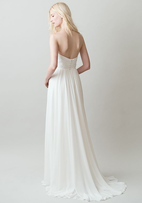 Jenny Yoo 'Stella' size 2 new wedding dress back view on model