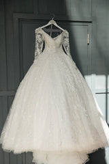Mori Lee 'Kristalina' size 2 used wedding dress front view on hanger