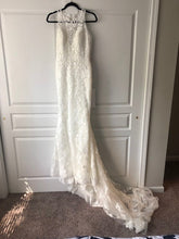 Load image into Gallery viewer, St. Patrick 'Bambari' size 8 new wedding dress front view on hanger