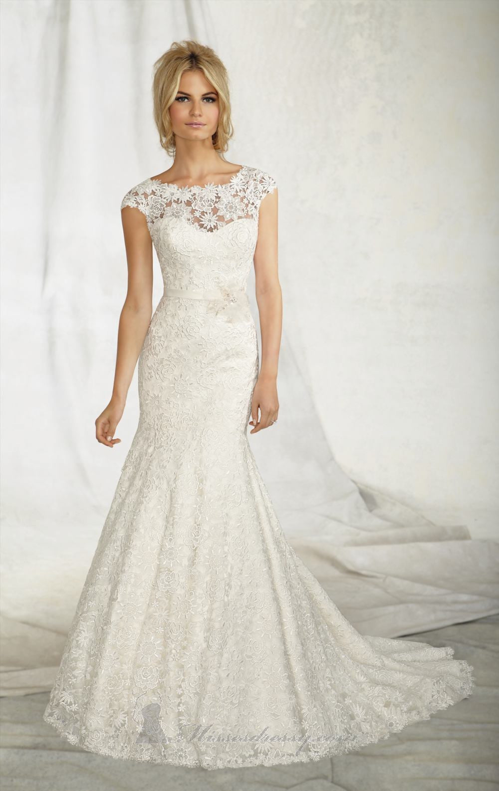 Mori Lee 'Angelina Faccenda' 1257 - Mori Lee - Nearly Newlywed Bridal Boutique