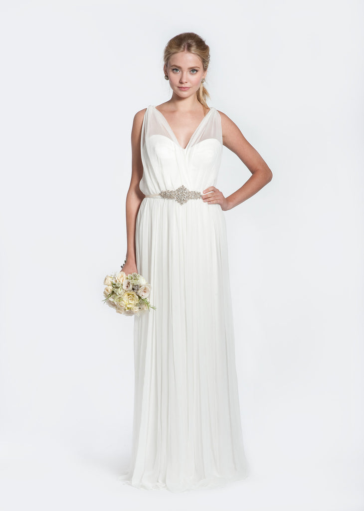 Winifred Bean 'Daisy' Off White Wedding Dress - Winifred Bean - Nearly Newlywed Bridal Boutique - 1