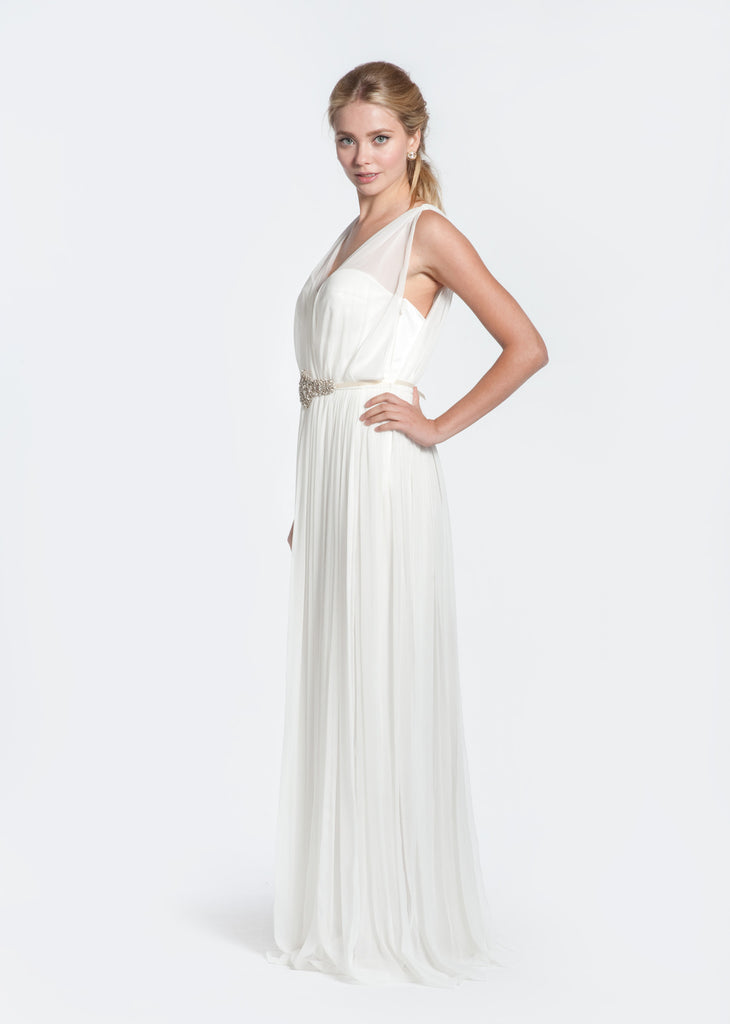 Winifred Bean 'Daisy' Off White Wedding Dress - Winifred Bean - Nearly Newlywed Bridal Boutique - 2