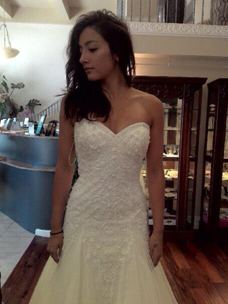 Rosa Clara 'Marina' Style 7A135 - Rosa Clara - Nearly Newlywed Bridal Boutique - 3