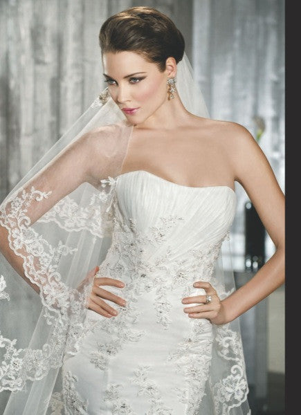 Demetrios Wedding Dress Style 7519 - Demetrios - Nearly Newlywed Bridal Boutique - 2