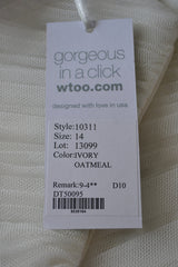 "Wtoo by Watters ""Cyprus"" Style #10311 - Wtoo - Nearly Newlywed Bridal Boutique - 4"