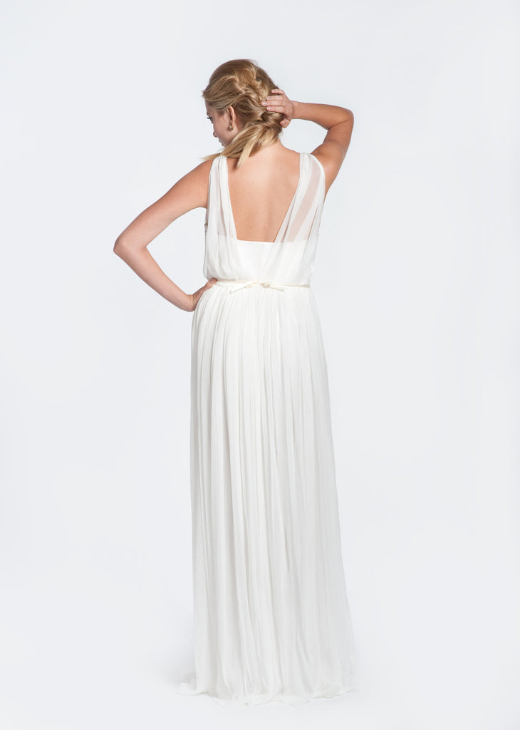 Winifred Bean 'Daisy' Off White Wedding Dress - Winifred Bean - Nearly Newlywed Bridal Boutique - 3