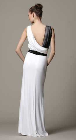 Gianfranco Ferre Chiffon Wedding Dress - Gianfranco Ferre - Nearly Newlywed Bridal Boutique - 3