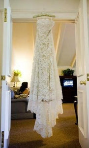 "Monique Lhuillier ""Mona"" - Monique Lhuillier - Nearly Newlywed Bridal Boutique - 4"