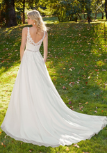Load image into Gallery viewer, Mori Lee '3214R Michelle' size 10 new wedding dress back view on model